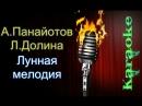 Александр Панайотов и Лариса Долина - Лунная мелодия караоке
