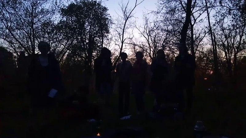 репетиция финальной песни к нашему поэтическому вечеру OdLit