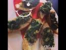🔴Постное меню😋Брускетты с пряным маслом и шпинатом шпинат лук свежий томат размарин тимьян оливковое масло 70 руб