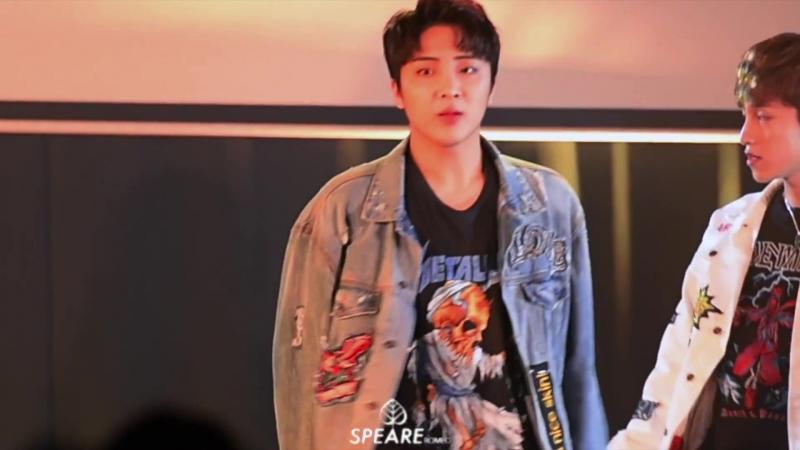 20180120 Выступление в HY Town Hall Back 2 You Yunsung focus