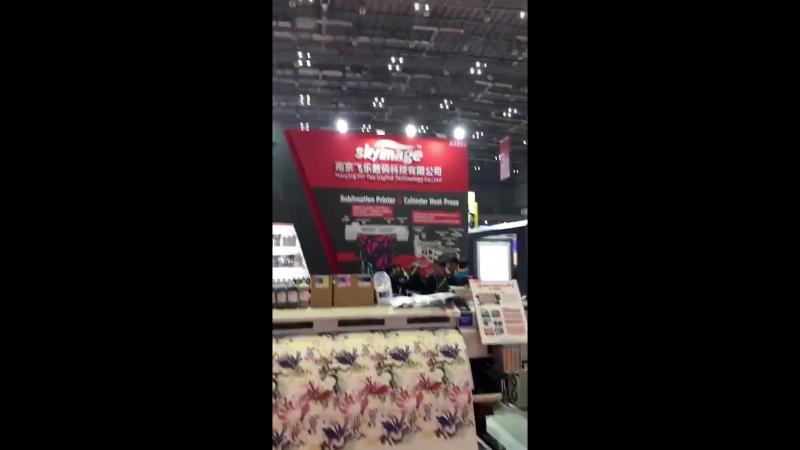 FeiYue Digital на APPP ShangHai Expo 2018. Мы стоим в зале 3 Booth A1050.