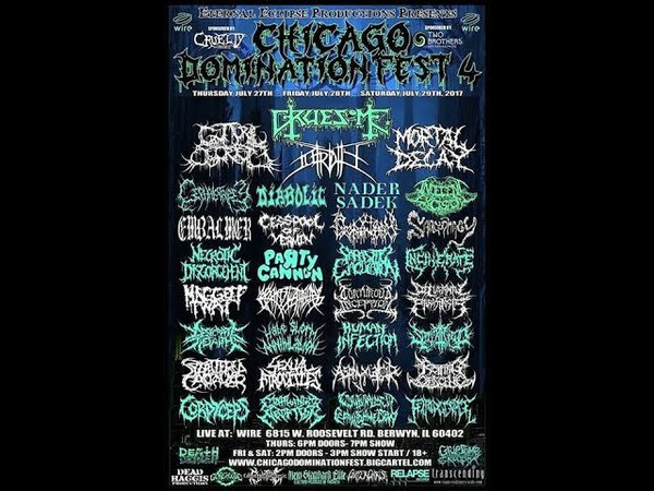 Chicago Domination Fest 4 - Party Cannon (Full Set)