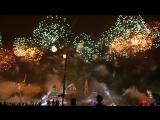 Праздничный салют к 9 мая в Москве