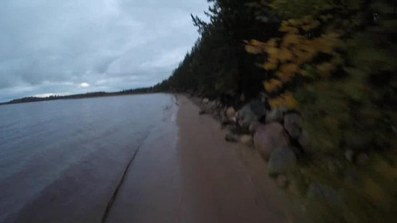 Кудама. сямозеро. Карелия октябрь 2017