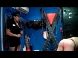 Extrem caning // 220 strokes from brutal mistress in uniform