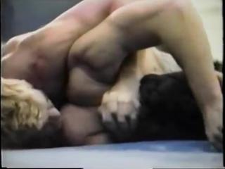 Kris Lord Wrestles Stud in Private Mat Room