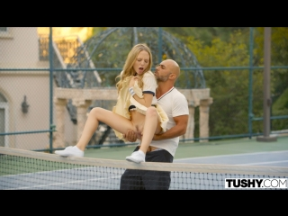 Aubrey star - tennis student gets anal lesson [all sex, hardcore, blowjob, anal]