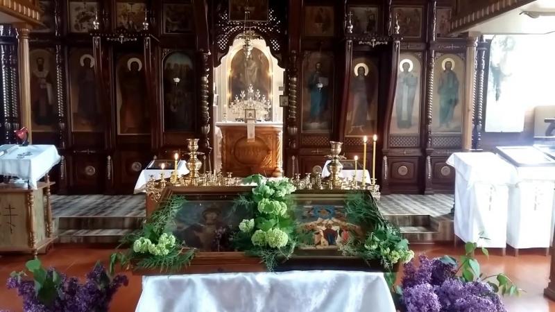 Молебен в день иконы Божией Матери Неупиваемая Чаша