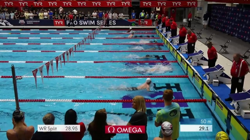 Men's 200m Breast A Final _ 2018 TYR Pro Swim Series - Indy
