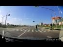 Водитель волги чуть не сбил пешехода