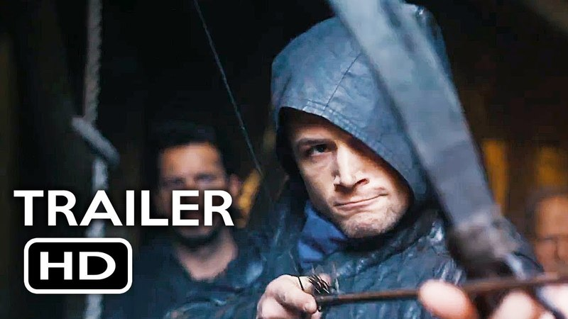 Robin Hood Official Trailer 1 (2018) Taron Egerton, Jamie Foxx Action Movie HD