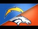 NFL 2017-2018 / Week 1 / 11.09.2017 / Los Angeles Chargers @ Denver Broncos Part 1