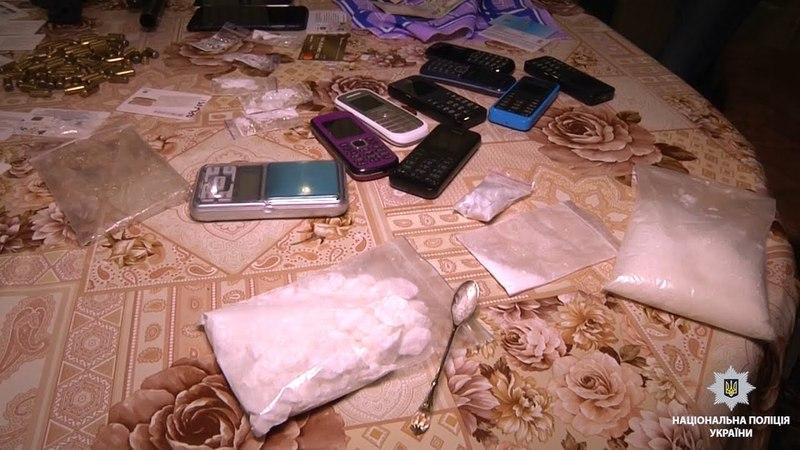 На Запоріжжі поліцейські вилучили півкілограма наркотичного засобу «кокаїн»
