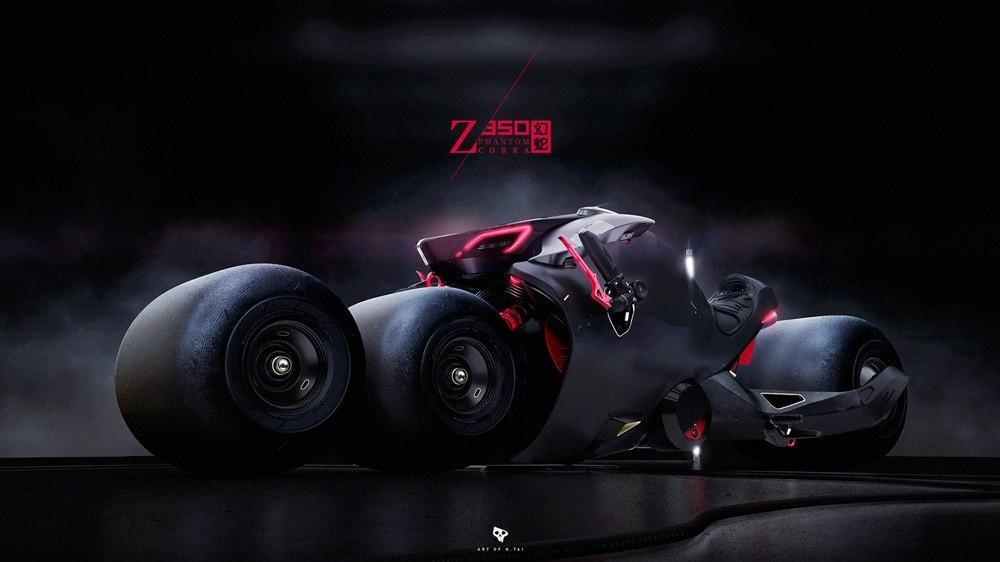Научно-фантастические моторисунки Нельсона Таи
