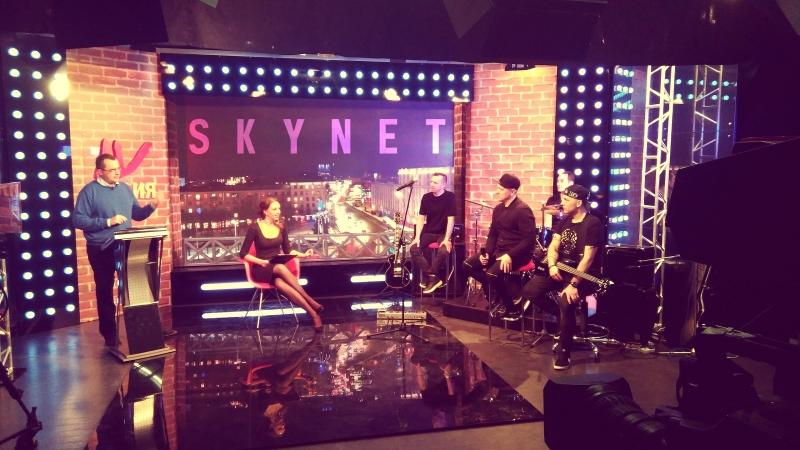 Группа SKYNET.Интервью и живая музыка