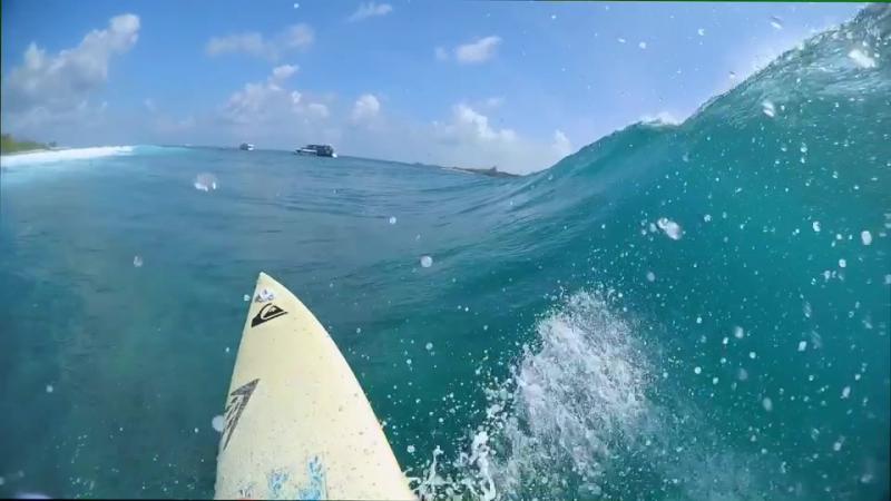 Мальдивы, райский серф трип.