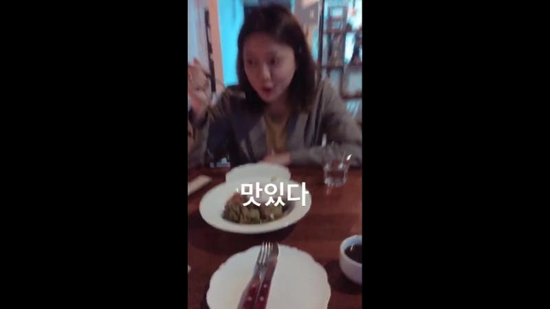 180321 Yeri (Red Velvet) @ rie_rabbit Instagram