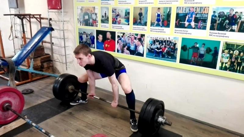 Павел Гуренко тяга 145 кг » Freewka.com - Смотреть онлайн в хорощем качестве