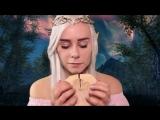 [HeyHelen ASMR] АСМР   Ролевая игра Эльф ? Залечу твои раны   ASMR Roleplay Elf Healing session