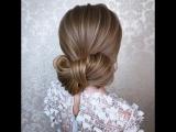 Очень красивая, нежная причёска
