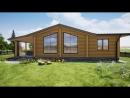 Проект срубового дома площадью 90 м2 Диаметр бревна 220мм