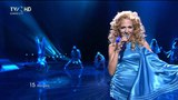 HD Eurovision 2011 Hungary Kati Wolf - What About My Dreams (Semi-Final 1)