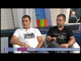 Гости Ранёхонько - авторы необычного флешмоба к 9 мая, Олег Чирков и Николай Никитёнок