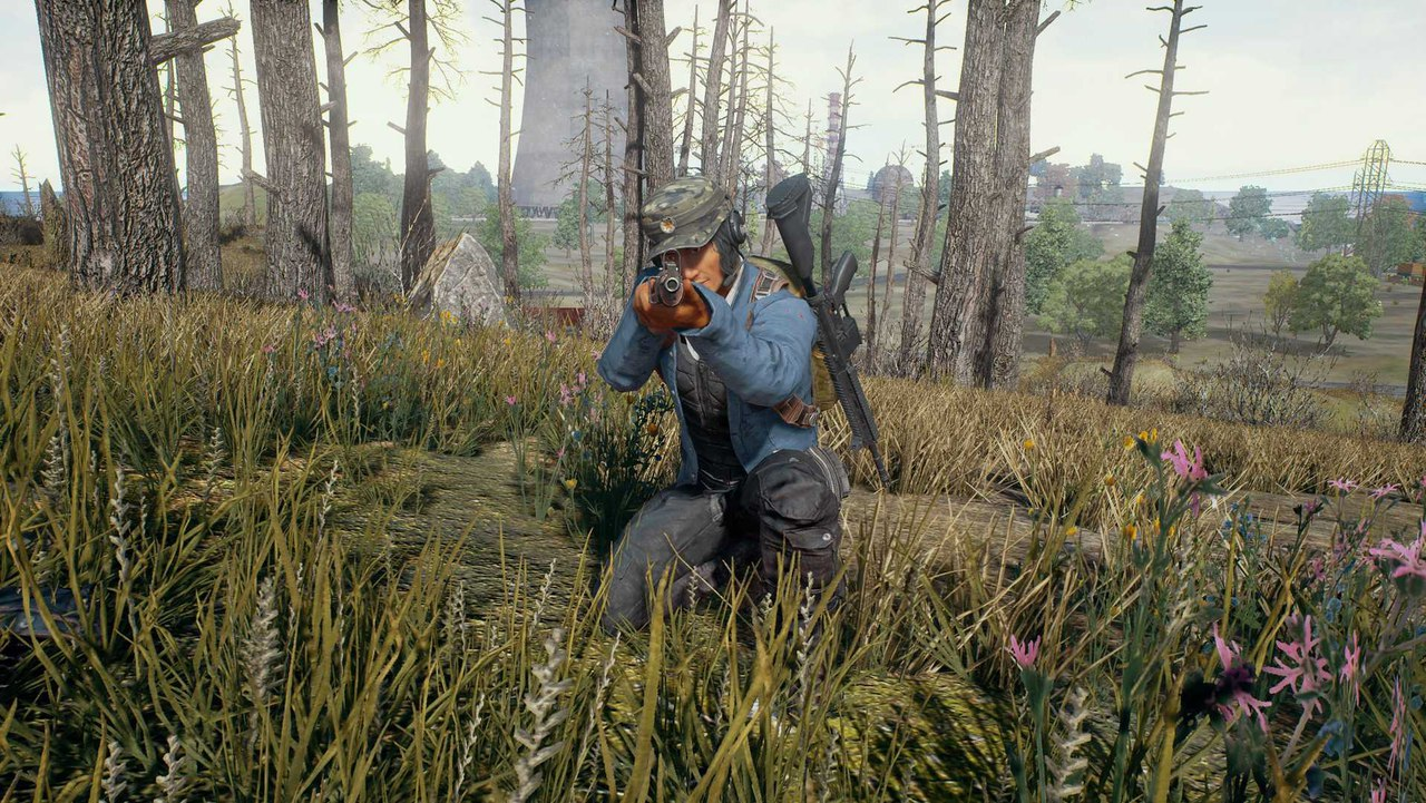 Скриншот игры PLAYERUNKNOWN'S BATTLEGROUNDS