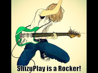 ShizuPlay is a Rocker!   Flash Guitar hero with a Move Guitar