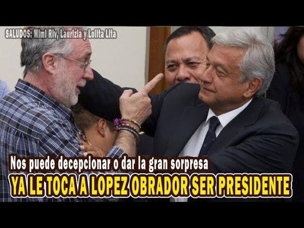 Nos puede decepcionar o dar la gran sorpresa, pero ya le toca a López Obrador