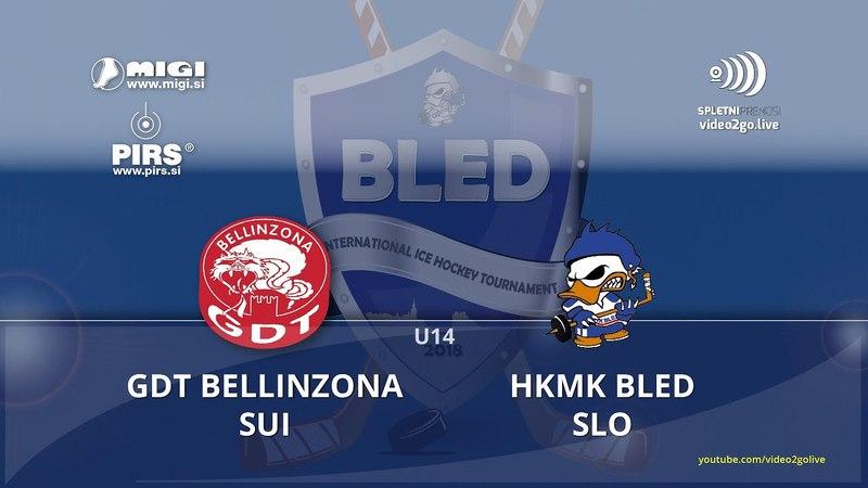 G39 - Bled 2018: GDT BELLINZONA, SUI - HKMK BLED, SLO U14