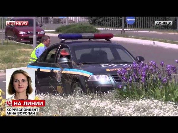 Донецк Подбит КАМАЗ с ранеными, погибло 35 человек 26 05 2014