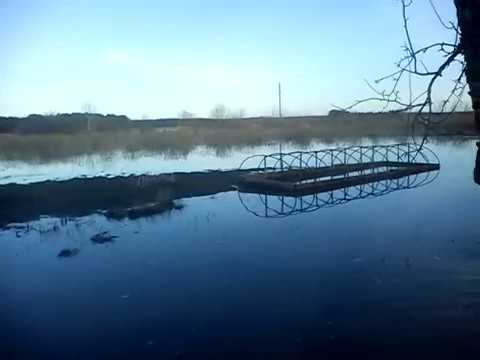 Воронежская область река Савала 8 апреля 2018 г., ПАСХА.