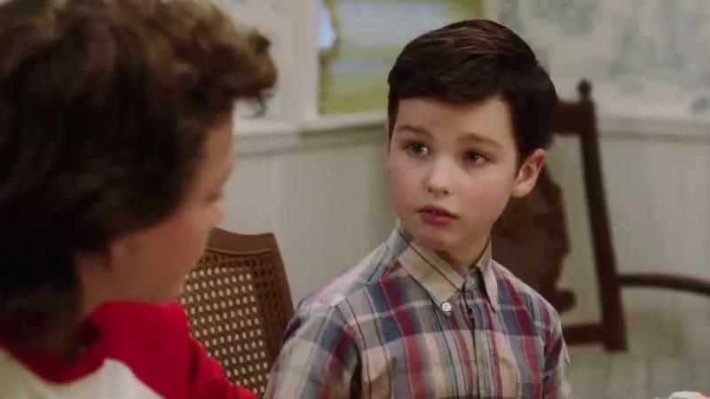 Детство Шелдона⁄ Young Sheldon (1 сезон) Русский трейлер (Кураж-Бамбей)