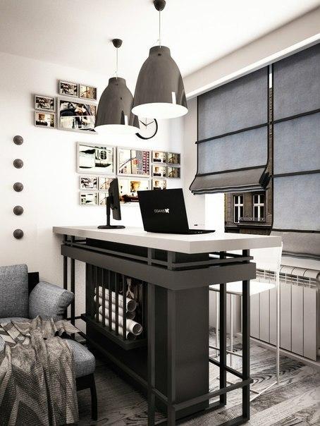 Проект дизайн интерьера квартиры для холостяка