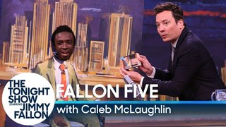 Jimmy Fallon Does Special Five-Minute