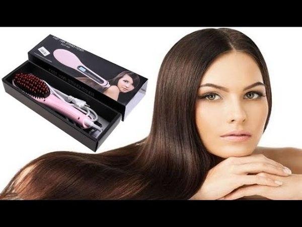 Расческа выпрямитель Fast hair Straightener Review Обзор, отзывы, где купить