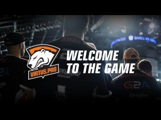 Добро пожаловать в игру. Подписывайся на Virtus.pro в YouTube!