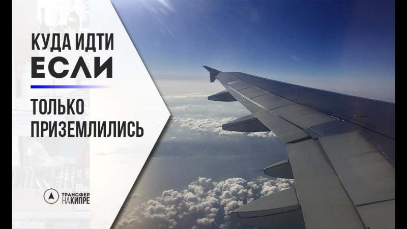 аэропорт Ларнака - встреча в зоне прилета