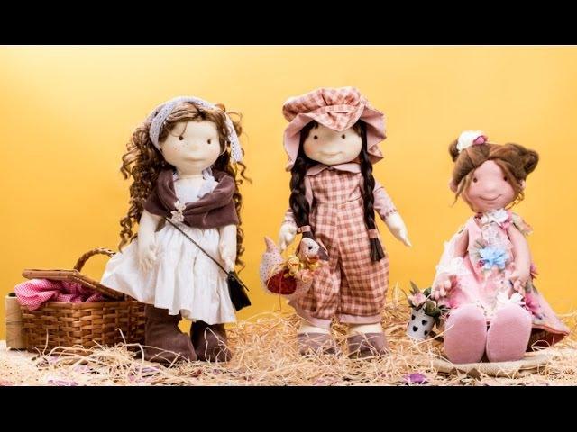 Bonecas de pano artesanais: escultura em fibra de acrílico | eduK.com.br curso online