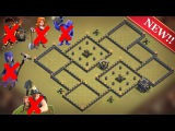 New Best Th9 War Base  Defense against Th11 GoBoWiPe, LavaLoon Th10 Miners Th9 GoVaWitch, GoValk