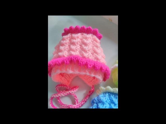 Чепчик - шапочка для малышей