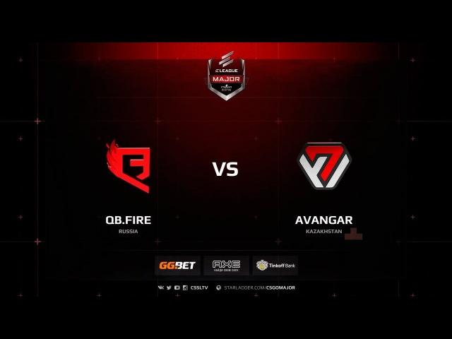 AVANGAR vs. QB.Fire @ de_train
