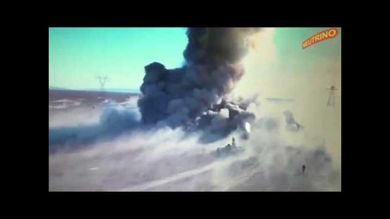 смертельный поединок между танком Т-72 и шахид-мобилем