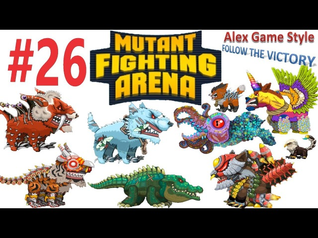 Mutant Fighting Arena - New crocodile in battle (Part 26)