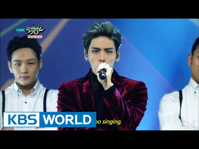 JongHyun (종현) - Deja-Boo (데자-부) CRAZY (Feat. IRON) [Music Bank Solo Debut 2015.01.09]