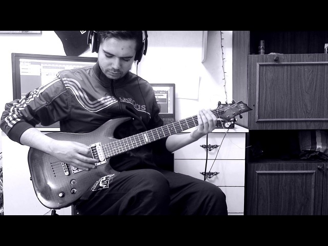 For The Fallen Dreams - The Undertow (guitar cover) with tabs in description