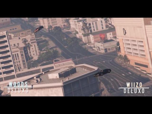 GTA 5 Епичные и очень красивые трюки из Doomsday DLC