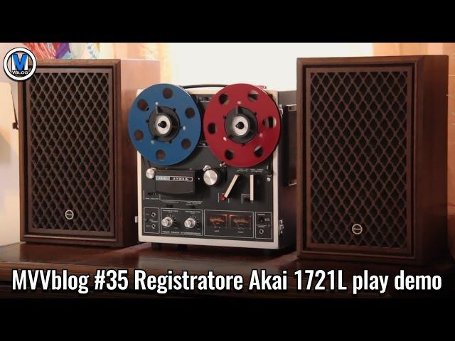 Akai 1721L play demo