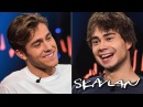 Eurovisions Rybak and Ingrosso do talk show interview together English Subtitles Skavlan